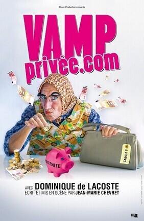 DOMINIQUE DE LACOSTE DANS VAMP PRIVEE.COM A DEAUVILLE