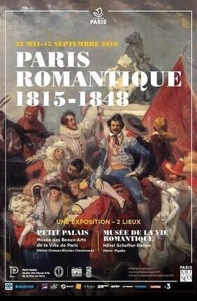 MUSEE DU PETIT PALAIS : EXPOSITION PARIS ROMANTIQUE, 1818-1848