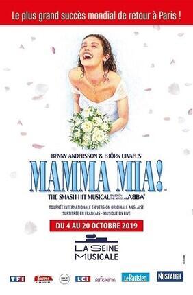 MAMMA MIA A LA SEINE MUSICALE