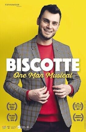 BISCOTTE DANS ONE MAN MUSICAL A LYON