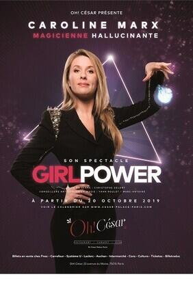 CAROLINE MARX DANS GIRL POWER AU CESAR PALACE