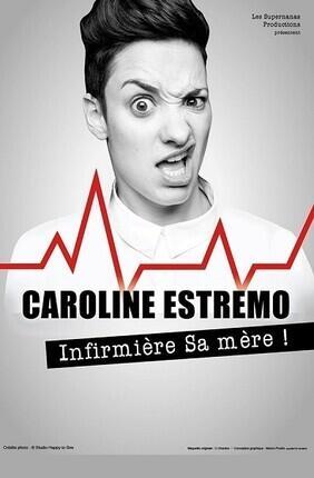 CAROLINE ESTREMO DANS INFIRMIERE SA MERE ! A NANTES
