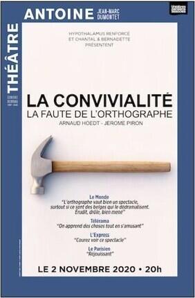 LA CONVIVIALITE LA FAUTE DE L'ORTHOGRAPHE