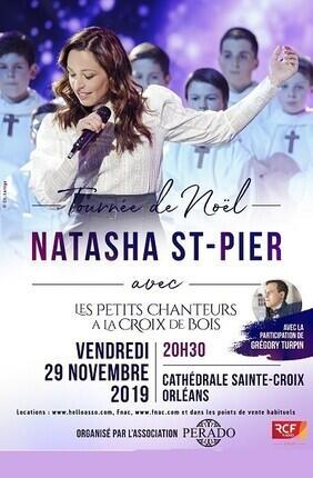 NATASHA ST PIER TOURNEE DE NOEL EN REGION CENTRE