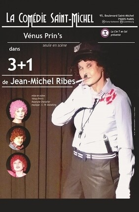 3 + 1 DE JEAN-MICHEL RIBES