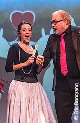 NEW, LA COMEDIE MUSICALE IMPROVISEE A IRIGNY