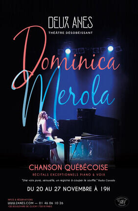 DOMINICA MEROLA CHANSON QUEBECOISE