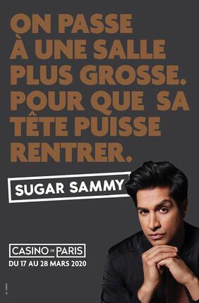 SUGAR SAMMY AU CASINO DE PARIS