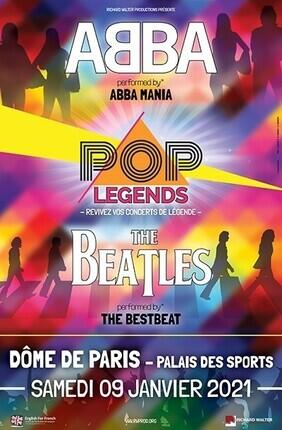 POP LEGENDS : ANNA AND THE BEATLES PERFORMED BY ABBA MANIA & THE BESTBEAT