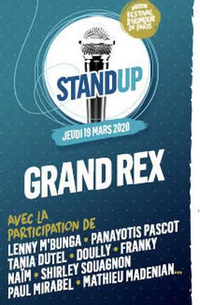 LA PLUS GRANDE SCENE STAND-UP DE FRANCE DANS LE CADRE DU FESTIVAL D'HUMOUR DE PARIS
