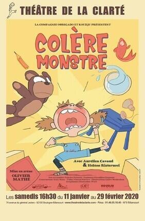COLERE MONSTRE A BOULOGNE BILLANCOURT