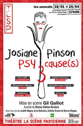 JOSIANE PINSON DANS PSY CAUSE(S) 3