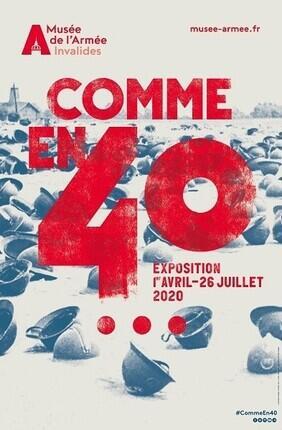 VISITE GUIDEE : COMME EN 40 AU MUSEE DE L'ARMEE