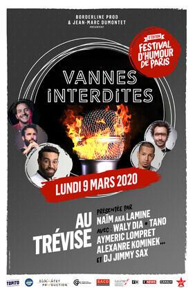 VANNES INTERDITES - FESTIVAL D'HUMOUR DE PARIS