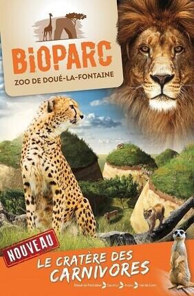 BIOPARC - ZOO DE DOUE-LA-FONTAINE - BILLET