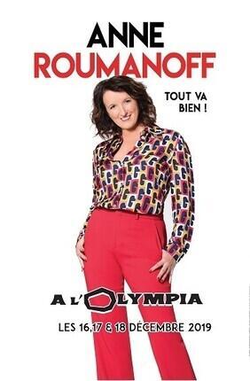 ANNE ROUMANOFF DANS TOUT VA BIEN !
