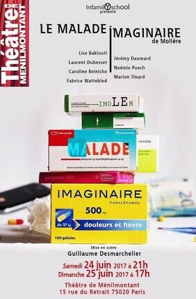 LE MALADE IMAGINAIRE (Th. Ménilmontant)