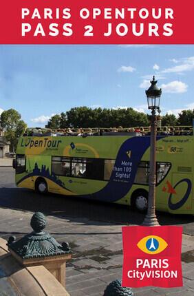 PARIS OPENTOUR PASS 2 JOURS