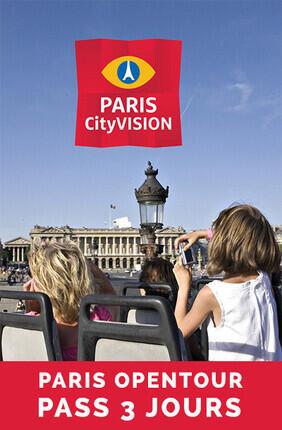 PARIS OPEN TOUR PARIS PASS 3 JOURS