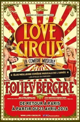 LOVE CIRCUS, LA COMEDIE MUSICALE