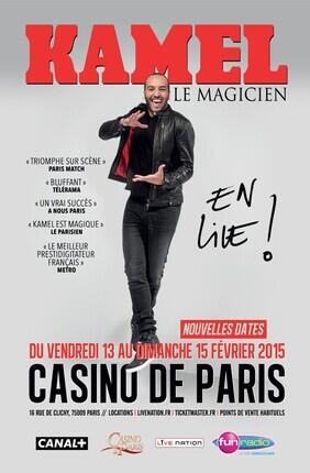 KAMEL LE MAGICIEN (Casino de Paris)