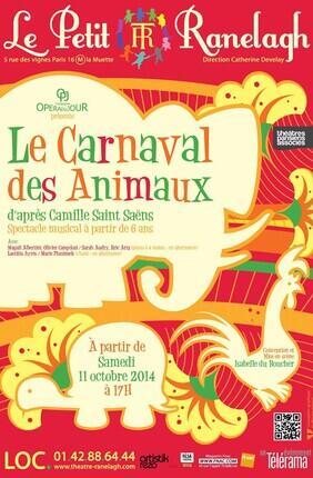 LE CARNAVAL DES ANIMAUX (Th. Le Ranelagh)