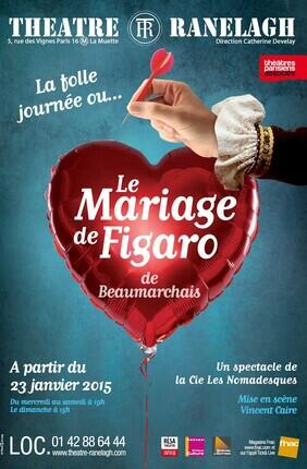 LE MARIAGE DE FIGARO (Théâtre du Ranelagh)