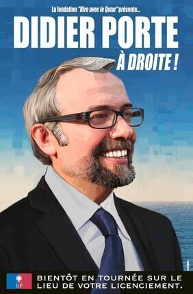 DIDIER PORTE, A DROITE ! (Le Trévise)