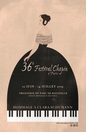 36E FESTIVAL CHOPIN A PARIS Au Parc de Bagatelle