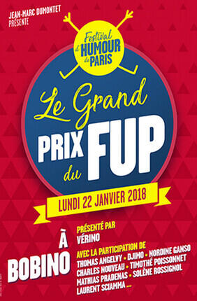 LE GRAND PRIX DU FESTIVAL D'HUMOUR DE PARIS