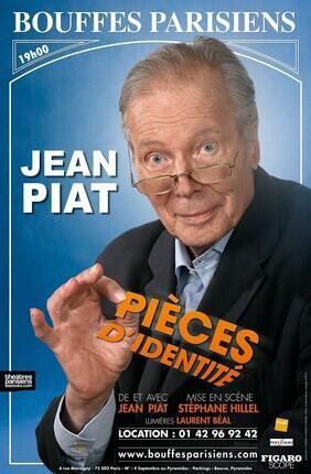 PIECES D'IDENTITE AVEC JEAN PIAT