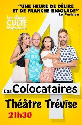 LES COLOCATAIRES, LE SHOW CULTE IMPROVISE (Theatre Trevise)