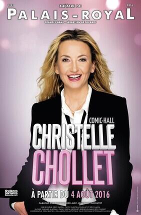 CHRISTELLE CHOLLET DANS COMIC-HALL (Theatre du Palais Royal)