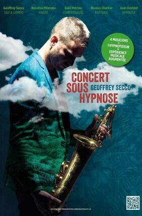 CONCERT SOUS HYPNOSE AVEC GEOFFREY SECCO (Theatre Trevise)