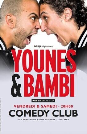 YOUNES ET BAMBI (Le comedy Club)