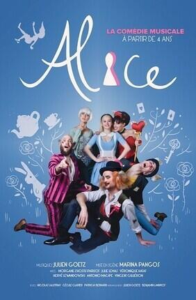 ALICE, LA COMEDIE MUSICALE (Theatre Le Paris)
