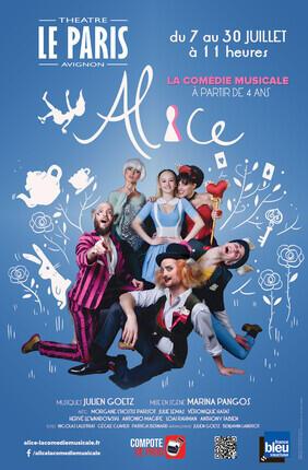 ALICE, LA COMEDIE MUSICALE (Theatre du Gymnase)