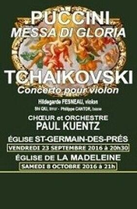 ORCHESTRE PAUL KUENTZ : PUCCINI - TCHAIKOVSKI (La Madeleine)