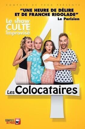 LES COLOCATAIRES, LE SHOW CULTE IMPROVISE (Palais des Glaces)