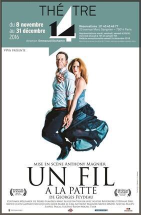 UN FIL A LA PATTE (Theatre 14)