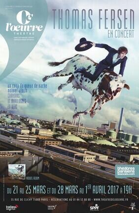 THOMAS FERSEN - UN COUP DE QUEUE DE VACHE, NOUVEL ALBUM