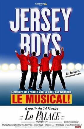 JERSEY BOYS - LA COMEDIE MUSICALE