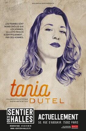 TANIA DUTEL (Le Sentier des Halles)