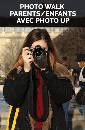 PHOTO WALK PARENTS/ENFANTS AVEC PHOTO UP (Versailles)
