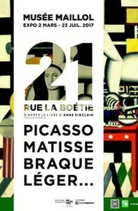 VISITE GUIDEE DE L'EXPOSITION : 21 RUE DE LA BOETIE AVEC 1VISIT4YOU