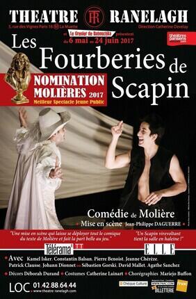 LES FOURBERIES DE SCAPIN (Le Ranelagh)