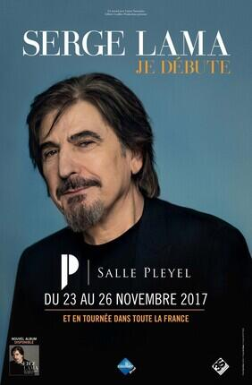 SERGE LAMA - JE DEBUTE (Salle Pleyel)