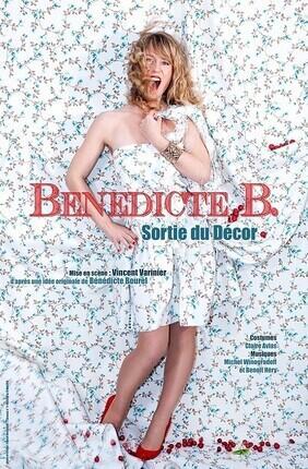 BENEDICTE BOUREL DANS BENEDICTE B, SORTIE DU DECOR