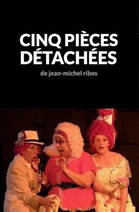 CINQ PIECES DETACHEES DE JEAN-MICHEL RIBES