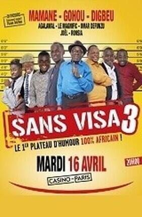 SANS VISA 3 FESTIVAL CFA